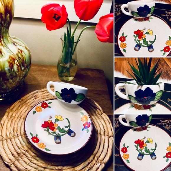 🦋2/$10 3/$15 4/$18 5/$20 Vintage Plate Set